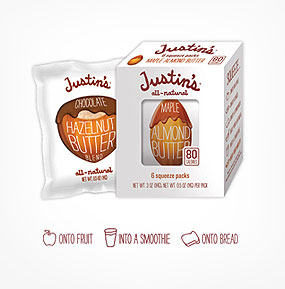 Justin's Nut Butter uses Easy Locator